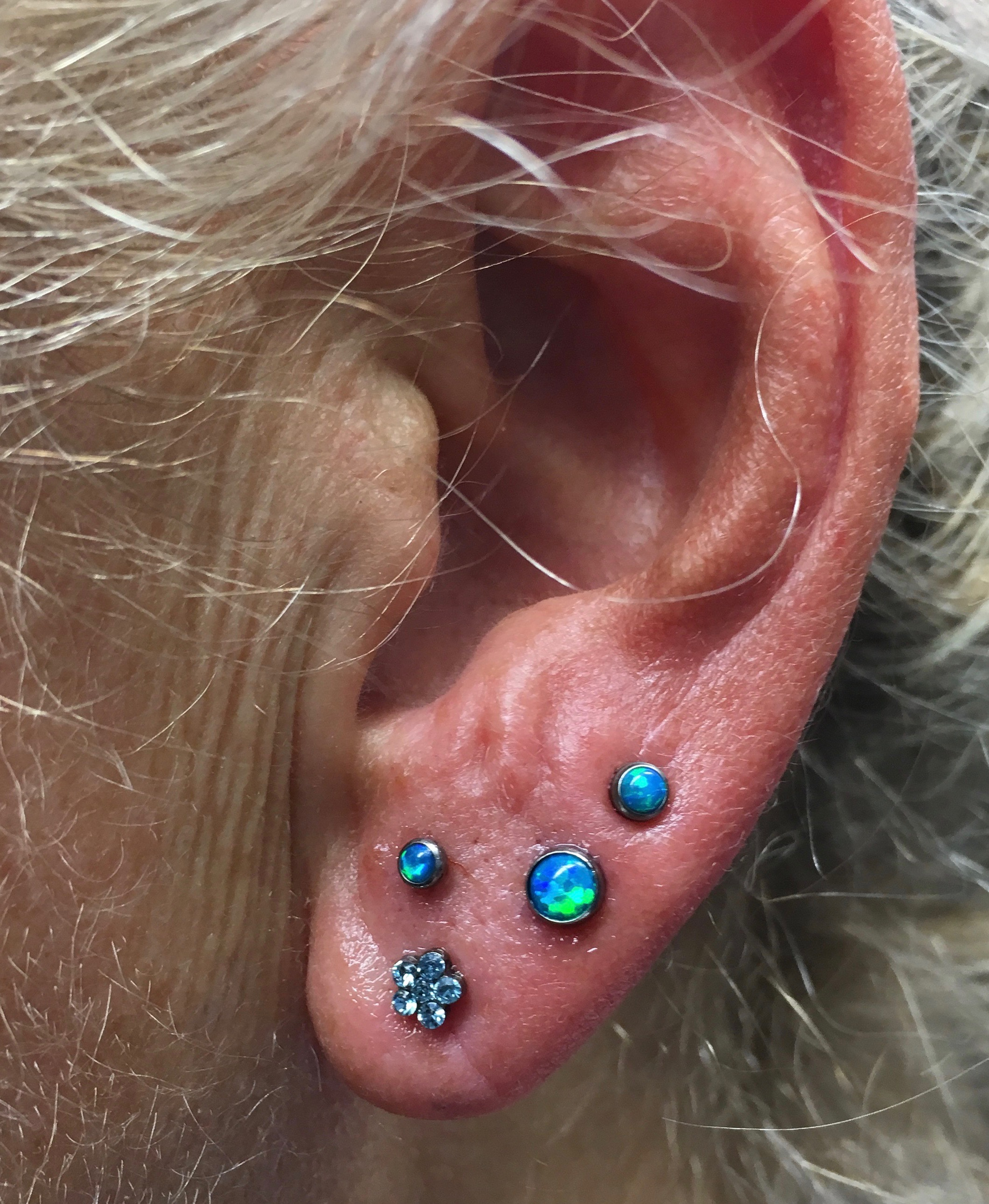 stacked lobes with opals from neometal__
