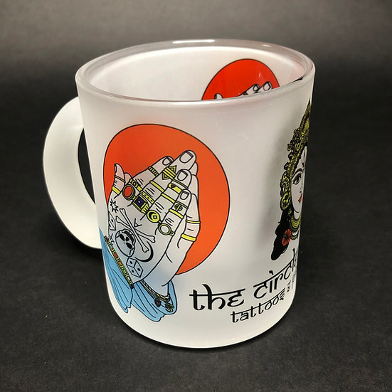 Drinking Nectar - 11oz - Prying Hands Frosted Mug