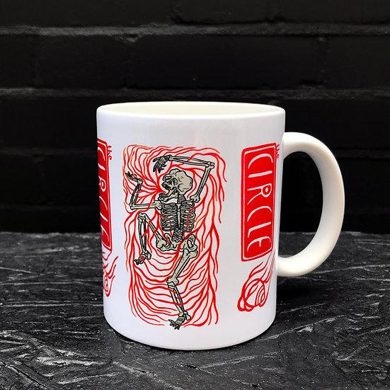Kola Hari - 11oz - Dancing Skeleton Mug