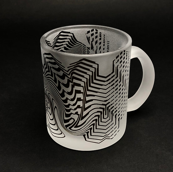 Cassady Bell - 11oz - Stripes Frosted mug