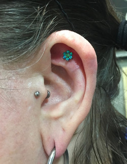 helix_flat with qualiti blue_green opal