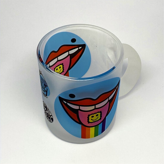 Mike Boyd - 11oz - Trippy Frosted mug