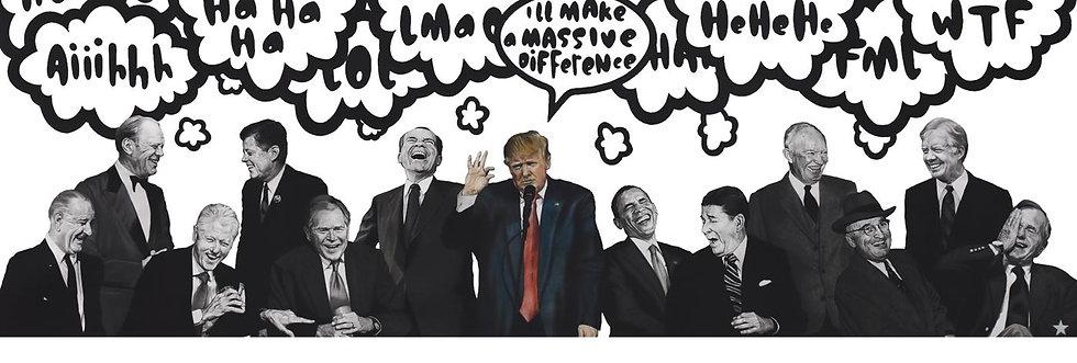 Ben Levy - Politically Incorrect framed print