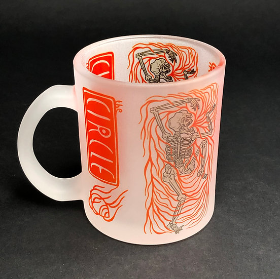Kola Hari - 11oz - Dancing Skeleton Frosted mug