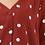 Thumbnail: Emeline Polka Tie Back Shirt