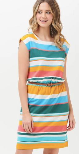 Hetty Riviera Stripe Dress