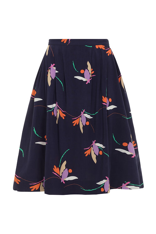 FAYE SKIRT-Birds of paradise