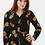 Thumbnail: Sienna Pineapple Batik Wide Leg Jumpsuit