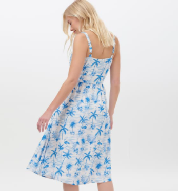 Tallulah Hawaii Flamingo Sundress