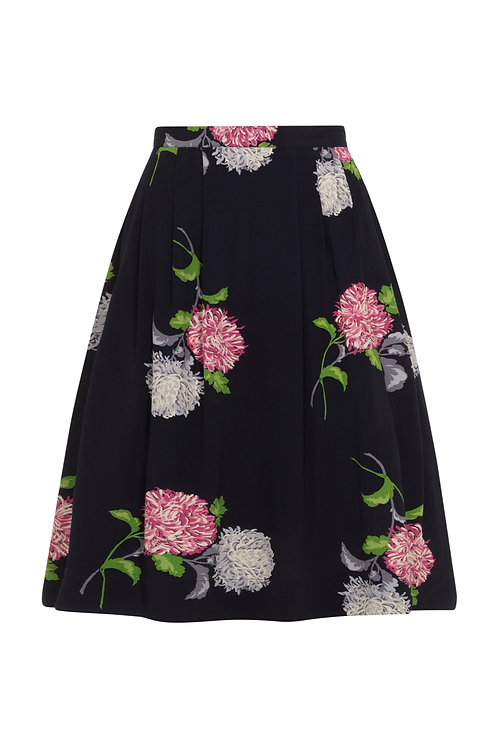 FAYE SKIRT-Dreamy Dahlias