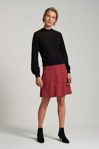 BORDER SKIRT Orbit Icon Red