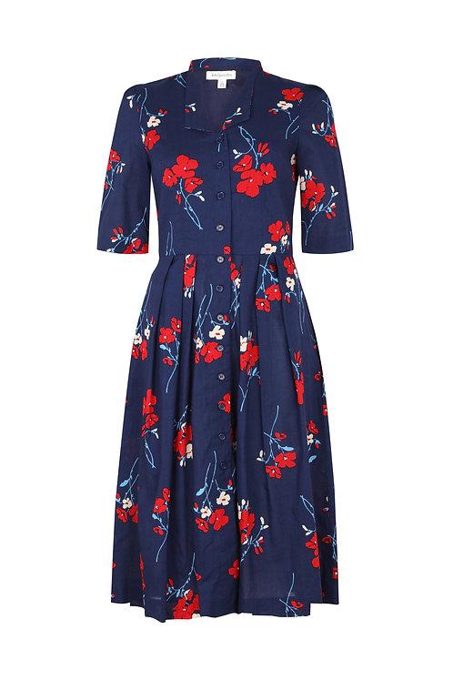 TILLY DRESS-Spring florets