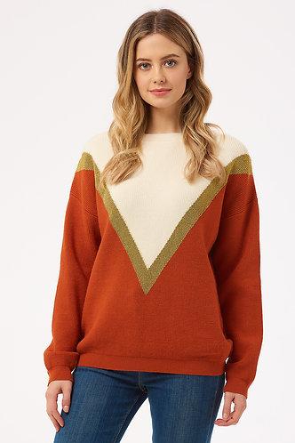 ROXY LUREX CHEVRON Sweater