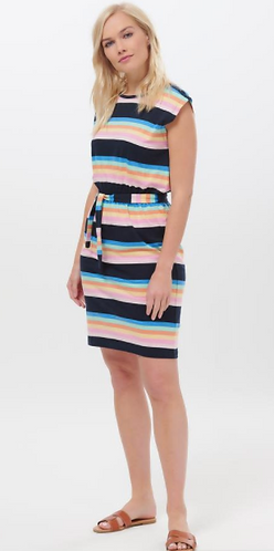 Hetty Surf Paradise Stripe Dress