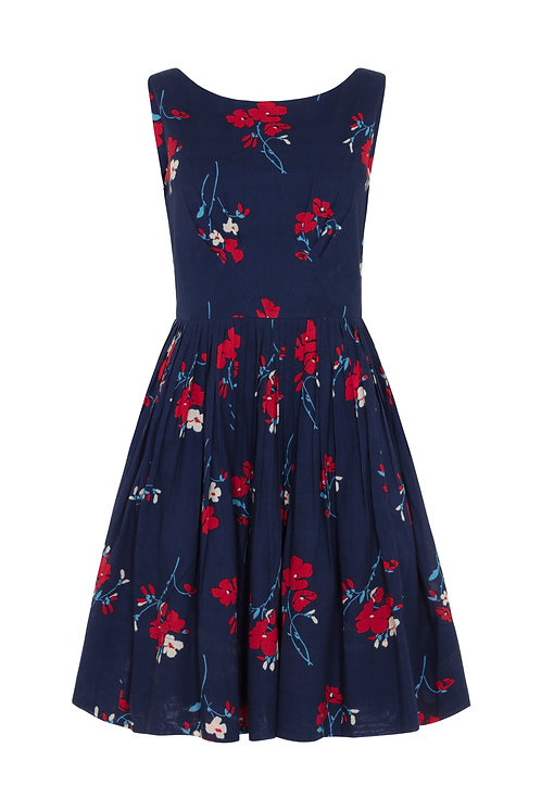 ABIGAIL DRESS-Spring florets