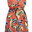 Thumbnail: Millie Tropical Punch Button Up Dress