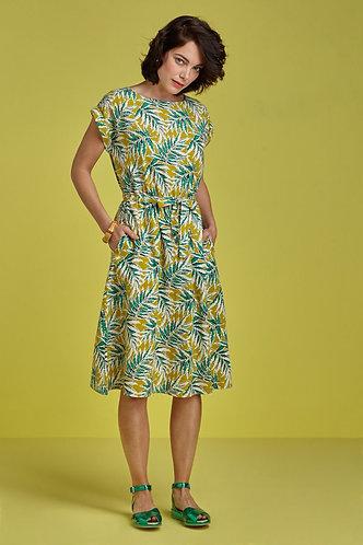 BETTY DRESS SCALA Cress Yellow
