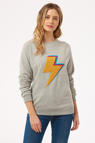 LAURIE STRUCK BY LIGHTNING Sweatshirt