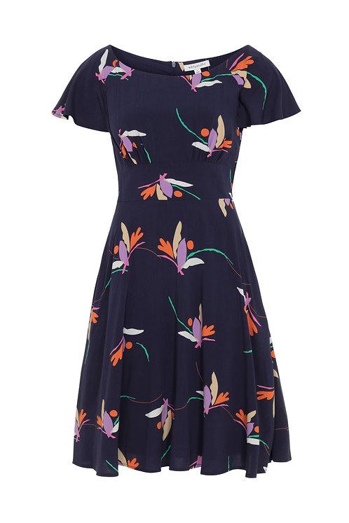 FEDERICA DRESS-Birds of paradise