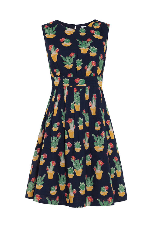 LUCY DRESS-Blooming Cactus