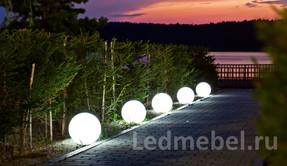 Световые шары для улицы