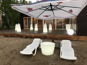 Виды пляжной и садовой мебели
