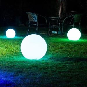 Световые шары для сада