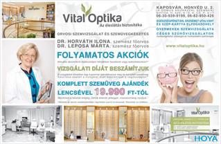 Vital Optika - Az éleslátás biztosítéka