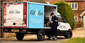 Milk Delivery StreetScooter