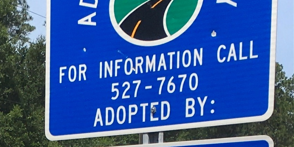 Spring Adopt-A-Highway Cleanup