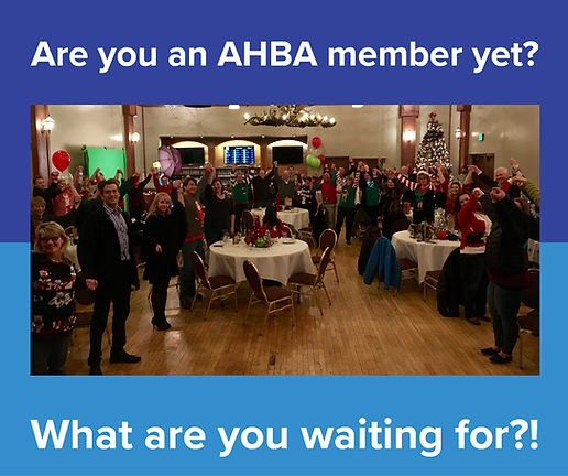 Are you an AHBA member?