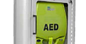 AED Plus Semi-Recessed Wall Cabinet