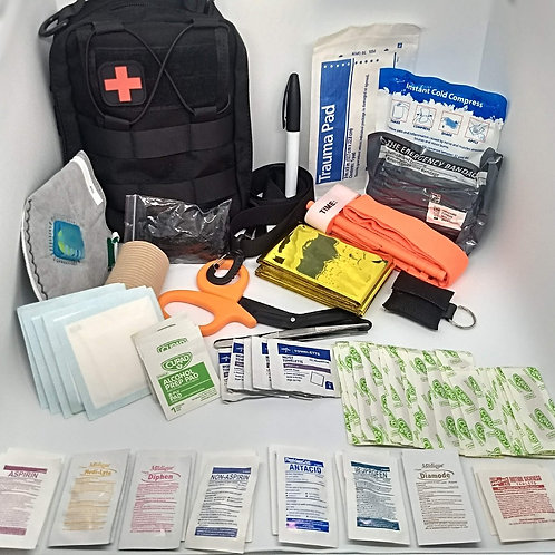 Deluxe First Aid Trauma Kit