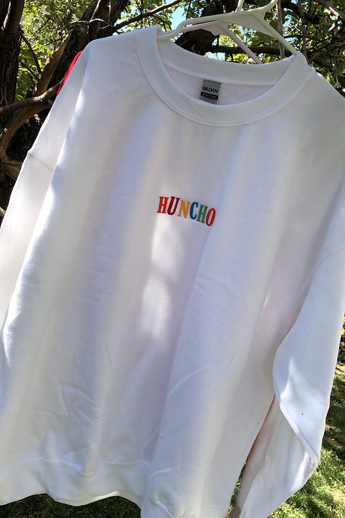 White 'Huncho' Pullover
