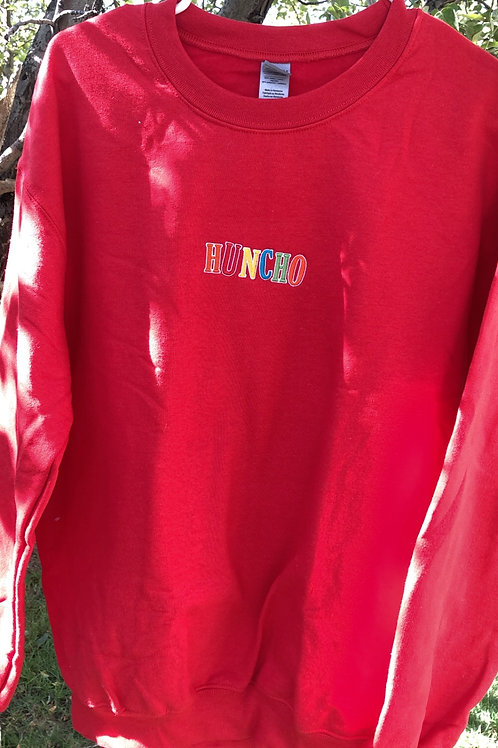 Red 'Huncho' Pullover