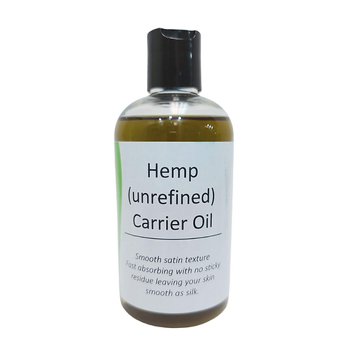 Hemp Unrefined Carrier Oil