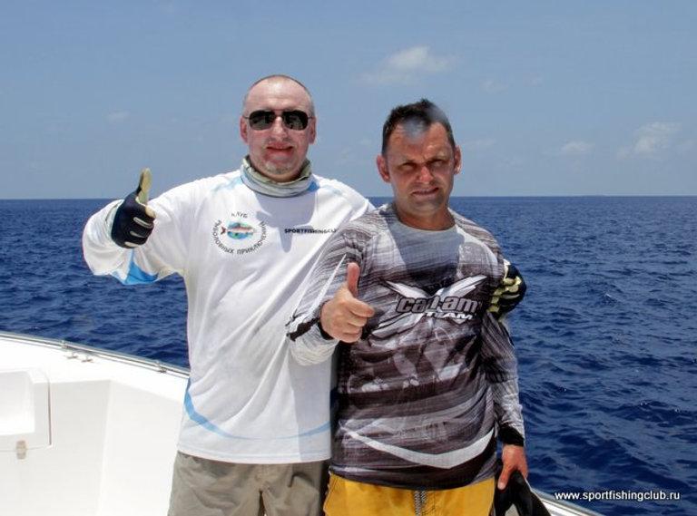 Недорогая рыбалка на Мальдивах