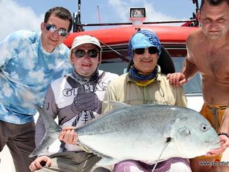 Трофейная рыбалка на Мальдивах