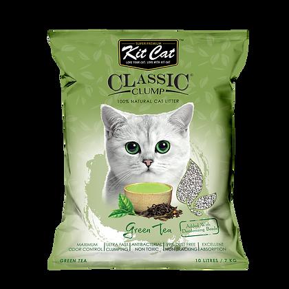 Kit Cat Green Tea Classic Clump Cat Litter 10kg/7l