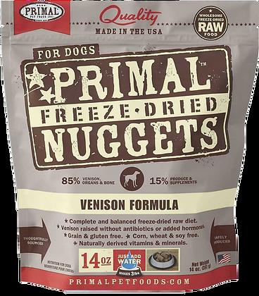 Primal Freeze Dried Venison (Dog) 14oz