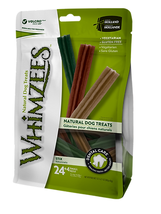 Whimzees Dental Treat - S Stix