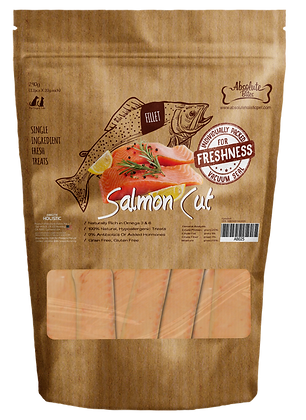 Absolute Bites Salmon Cut 240g