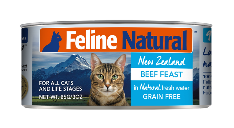 Feline Natural Beef Cat Canned Food 85g