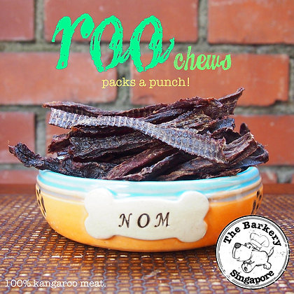 The Barkery - Roo Chews 40/100g