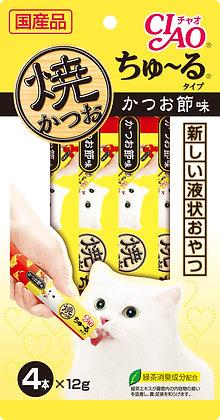 Ciao Chu ru Grilled Tuna Chu ru Bonito Flavour 12g x 4