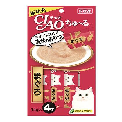 Ciao Chu ru Tuna (Maguro) 14g x 4