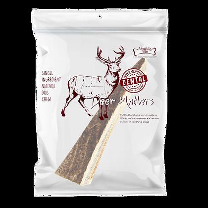 Absolute Bites Half Deer Antlers Dental Chew (Medium)