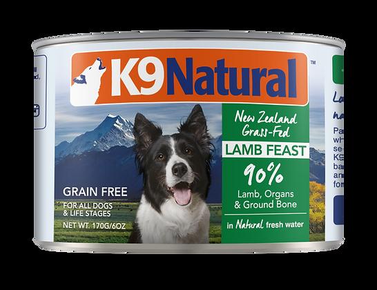 K9 Natural Lamb Canned 170g