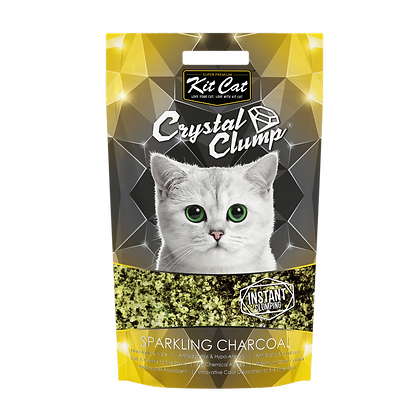 Kit Cat Crystal Clump Sparkling Charcoal 4l/1.8kg