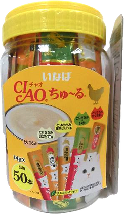 Ciao Chu ru Chicken Mix 14g x 50
